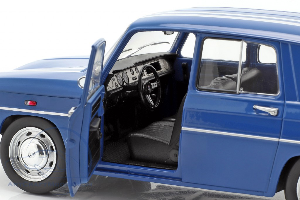 Renault 8 Gordini 1100 year 1967 blue