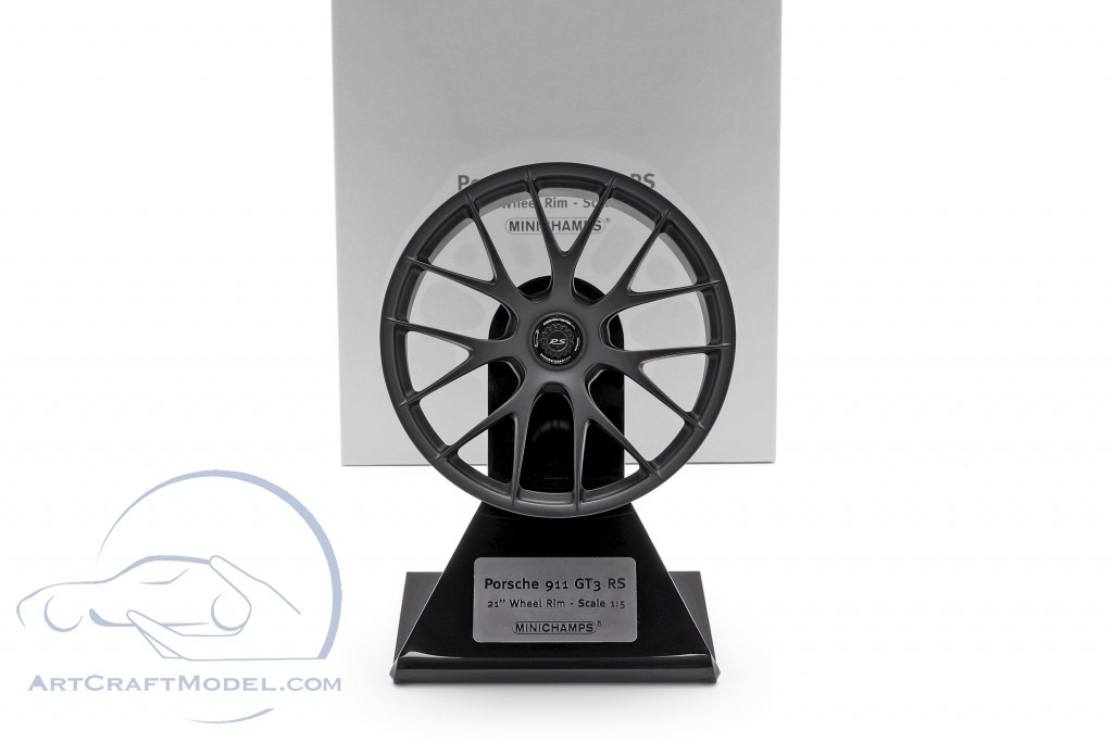 Porsche 911 GT3 RS 2020 Magnesium rim 21 inch satin black