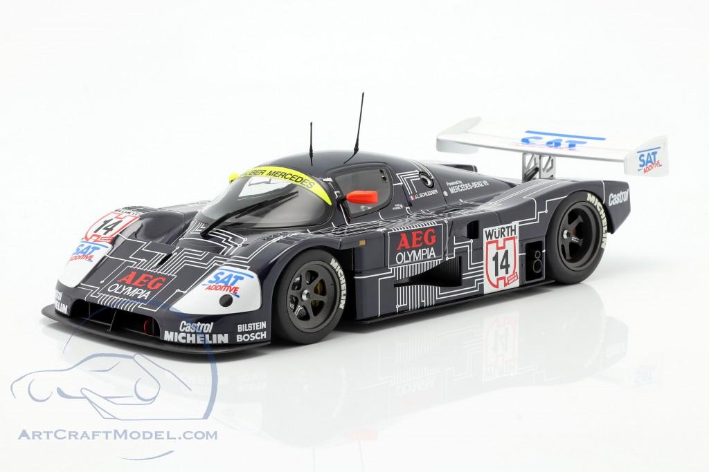 Sauber-Mercedes C9 #14 Winner Supercup 1988 J.-L. Schlesser