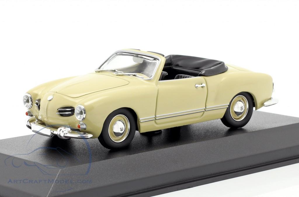 Volkswagen VW Karmann Ghia Cabriolet 1955 cream-beige
