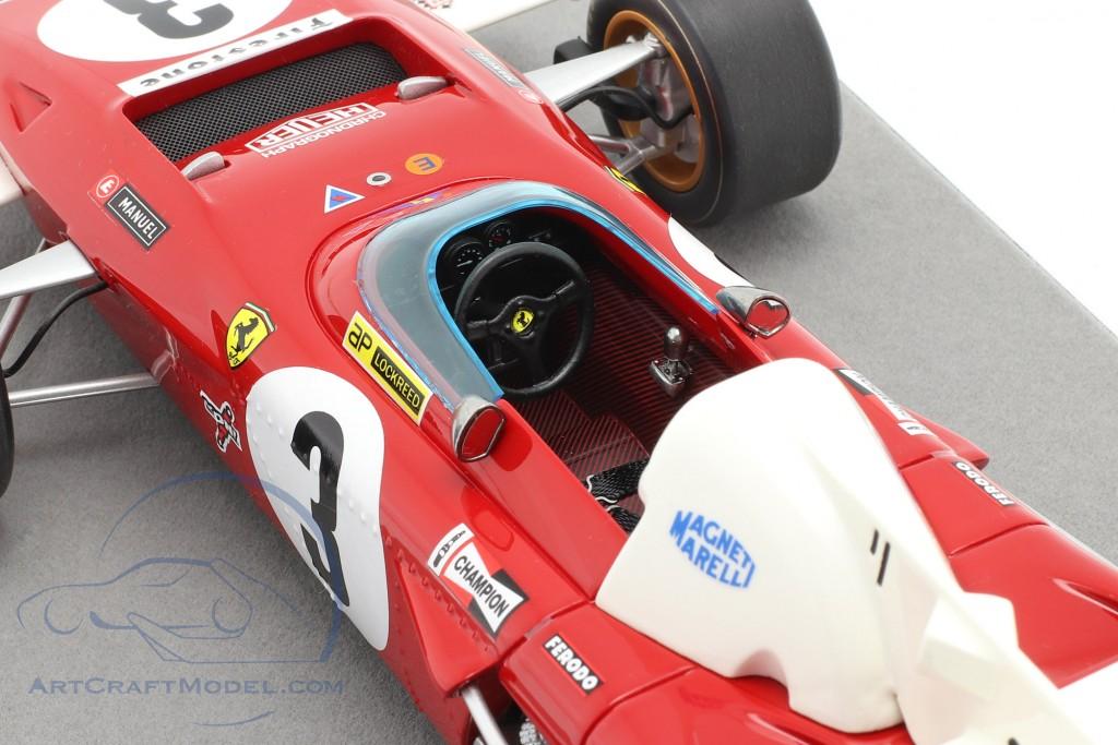 Clay Regazzoni Ferrari 312B2 #3 3rd Dutch GP formula 1 1971
