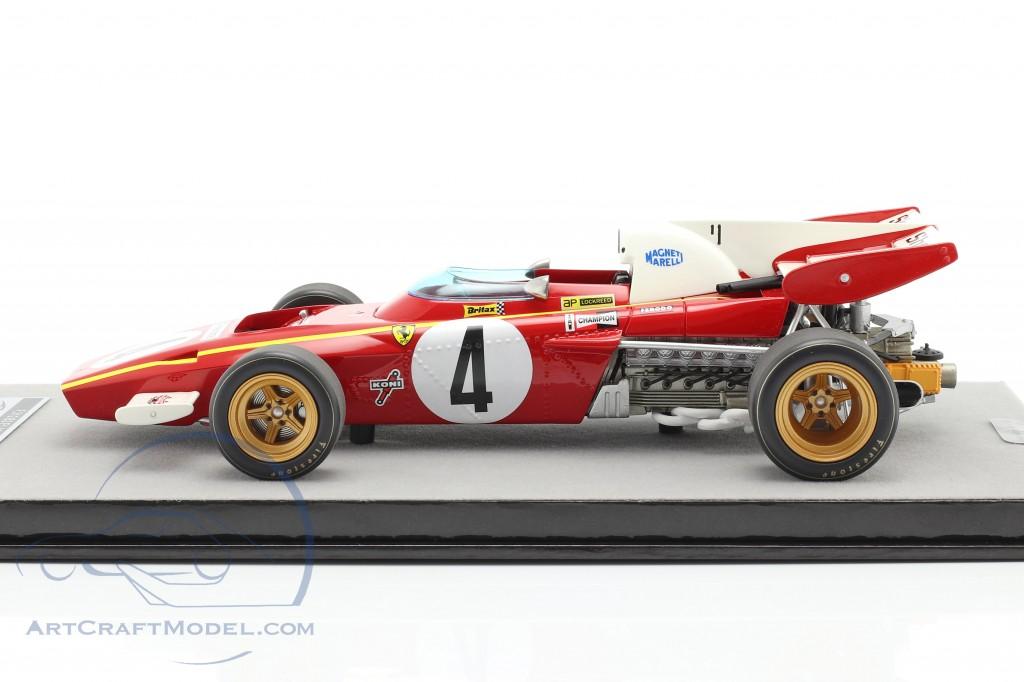 Jacky Ickx Ferrari 312B2 #4 3rd Monaco GP formula 1 1971