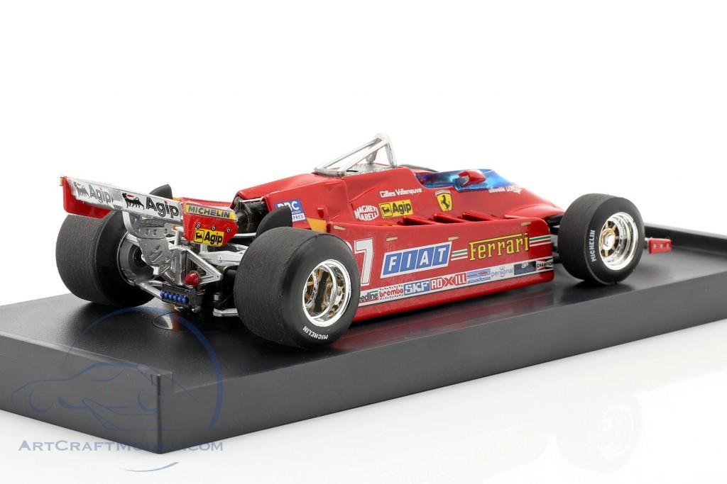 Villeneuve Ferrari 126CX comprex #27 Practice GP USA formula 1 1981