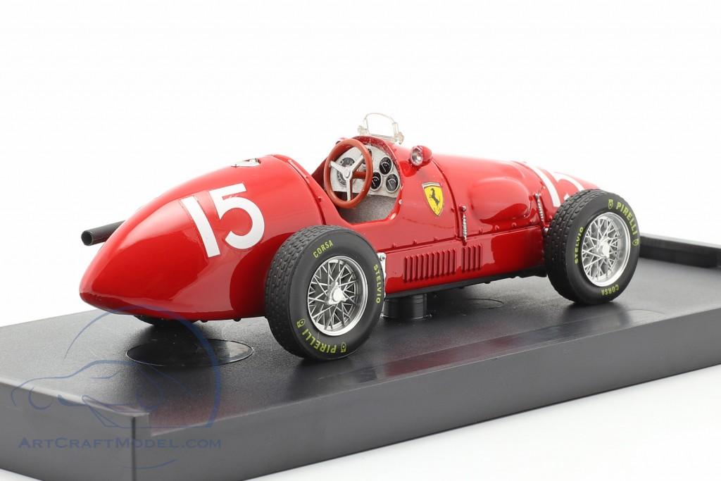 Ascari Ferrari 500F2 Formel1 1952 worldchampion
