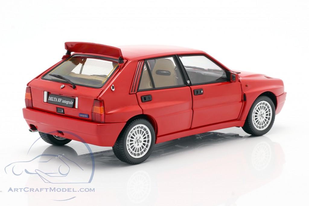 Lancia Delta HF Integrale Evoluzione 2 year 1993 red