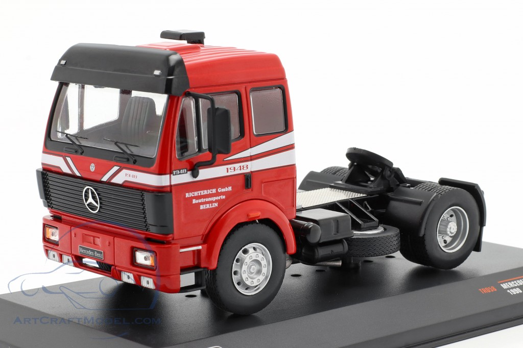 Mercedes-Benz SK 1948 Truck year 1990 red