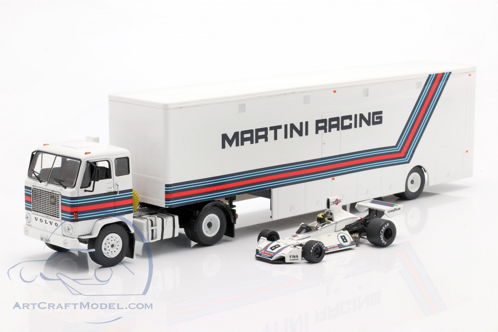 Volvo F88 Racing transporter Brabham Martini Racing formula 1