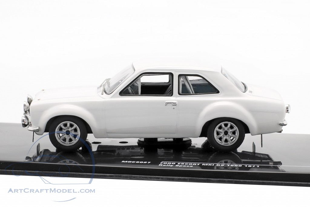 Ford Escort MK I RS 1600 1971 Rally Specs Plain Body Version white