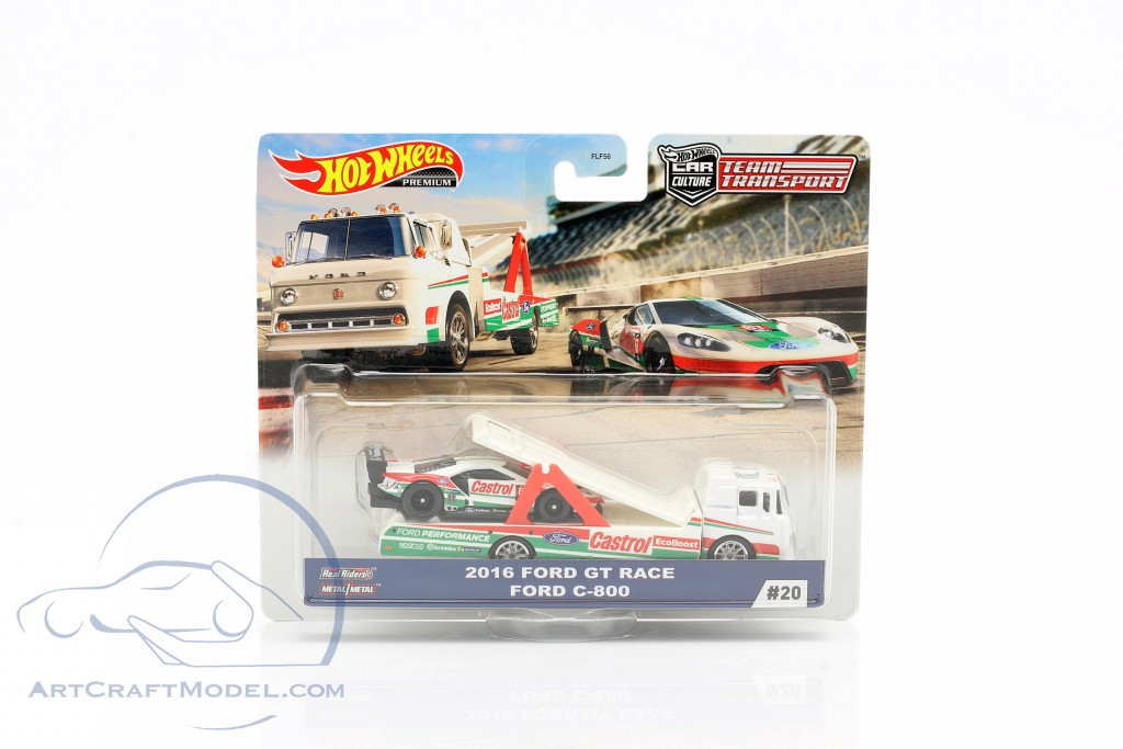 Set Team Transport: Ford GT Race 2016 & Ford C-800