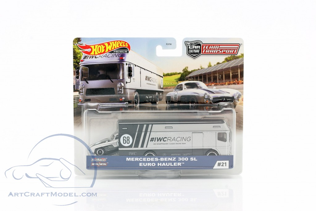 Set Team Transport: Mercedes-Benz 300 SL & Euro Hauler