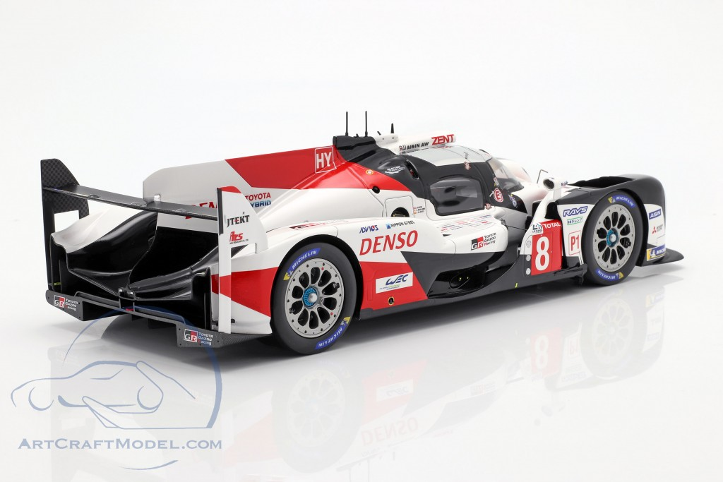 Toyota TS050 Hybrid #8 Winner 24h LeMans 2019 with showcase