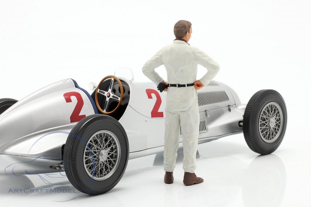 Figur 1:18 Figurenmanufaktur 180121 Rennfahrer Manfred von Brauchitsch