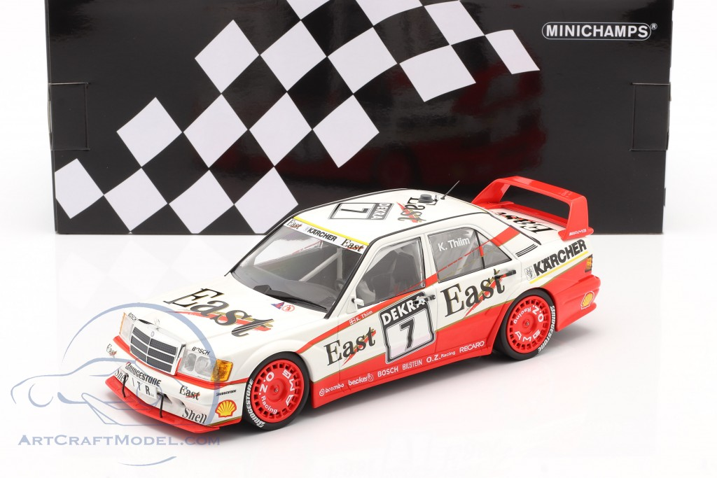 Mercedes 190E 2.5-16 Evo 2 Amg Kurt Thiim Dtm 1991 MINICHAMPS 1:18 155913607 Mod