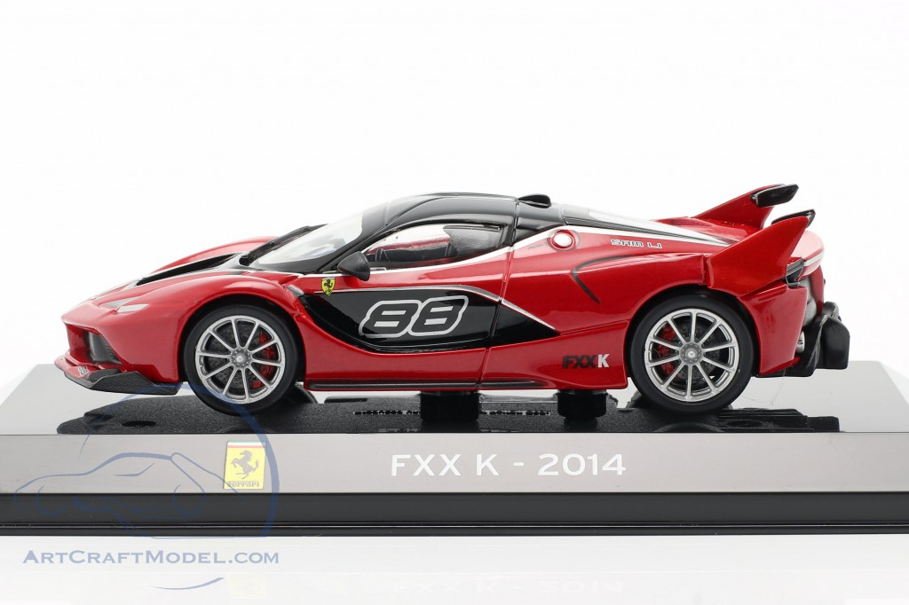 Ferrari FXX K #88 Baujahr 2014 rot schwarz 1:43 Altaya