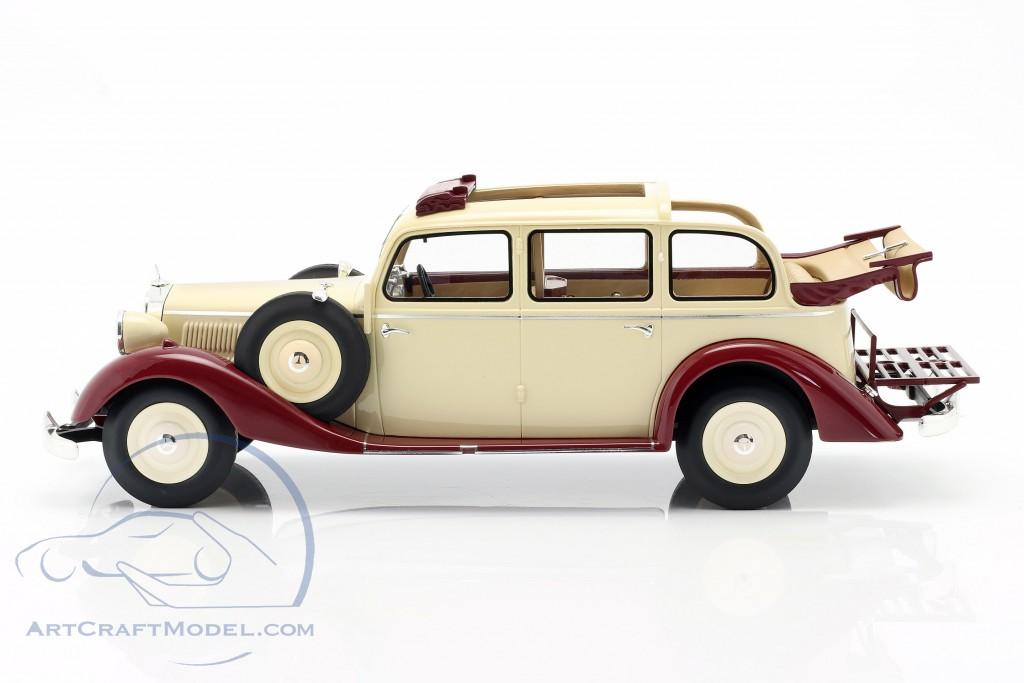 Mercedes-Benz 260 D (W138) Pullman Landaulet 1936 beige / dark red