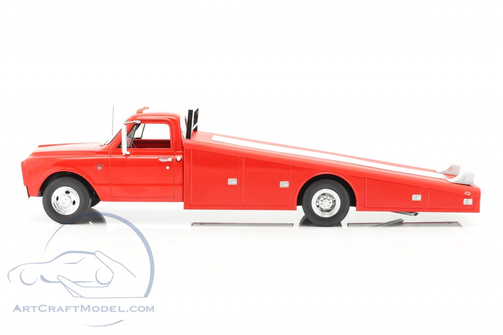 Chevrolet C-30 Ramp Truck year 1967 red