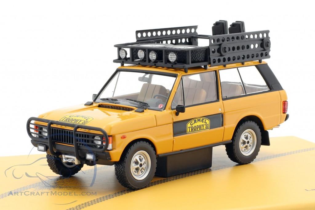 Land Rover Range Rover Camel Trophy Sumatra 1981