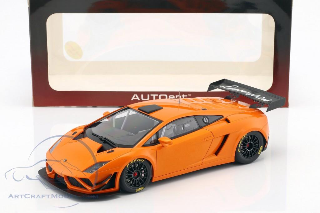 Lamborghini Gallardo GT3 FL2 year 2013 orange metallic