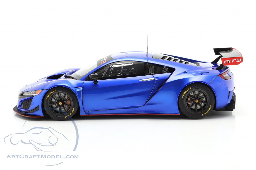Honda NSX GT3 year 2018 hyper blue