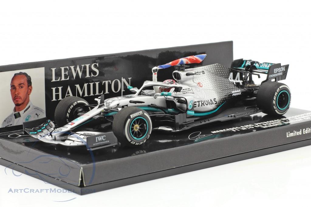 L. Hamilton Mercedes-AMG F1 W10 #44 British GP World Champion F1 2019