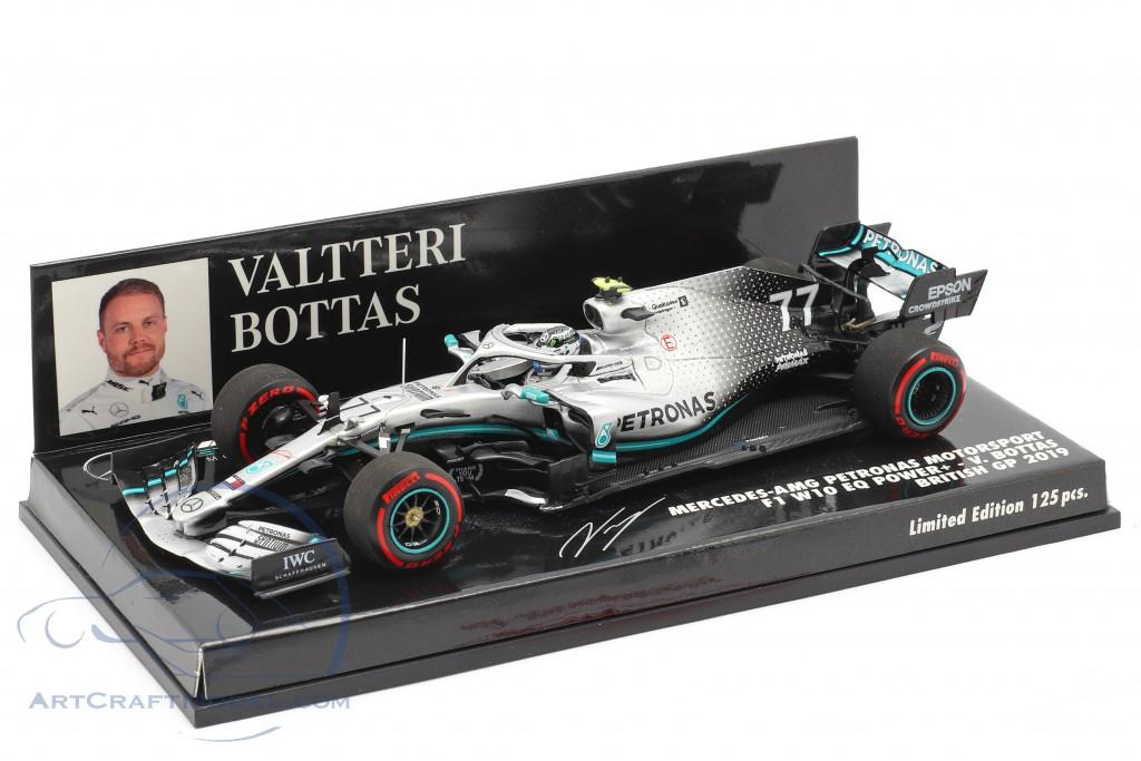 Valtteri Bottas Mercedes-AMG F1 W10 #77 2nd British GP F1 2019