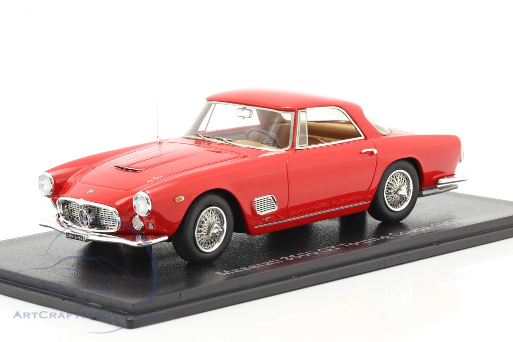 Maserati 3500 GT Touring Coupe year 1957 red