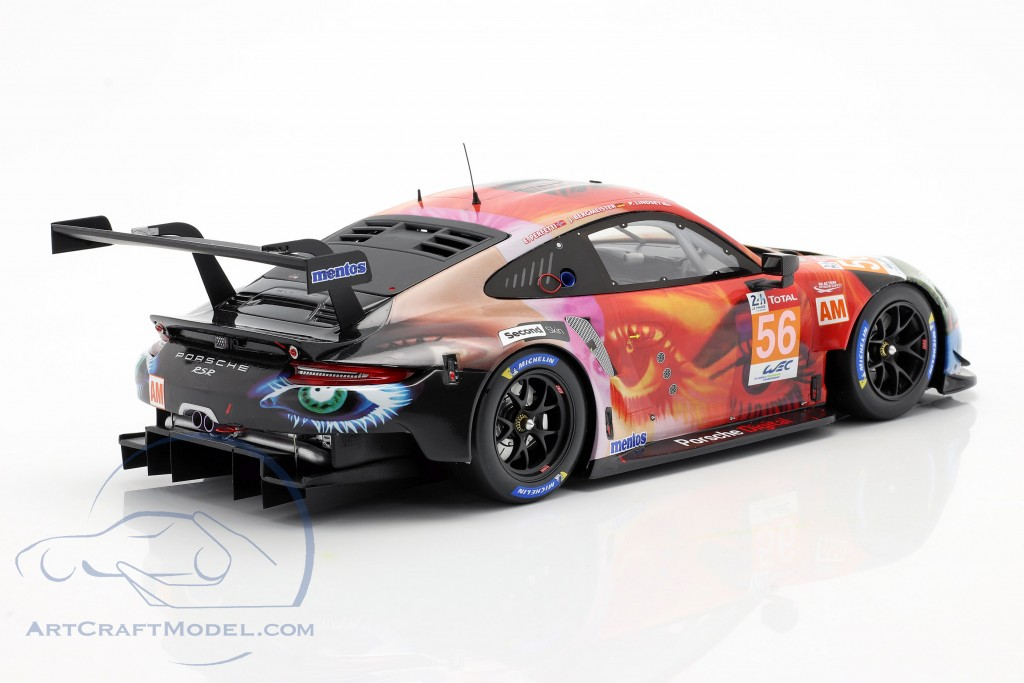 Porsche 911 RSR #56 Class winner LMGTE Am 24h LeMans 2019 Team Project 1