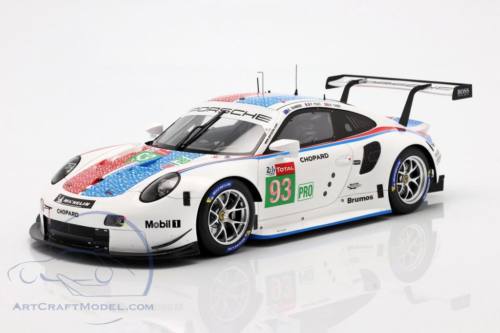 Porsche 911 RSR GTE #93 3rd LMGTE Pro 24h LeMans 2019 Porsche GT Team