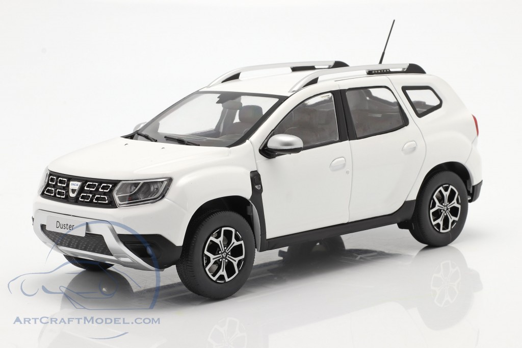Dacia Duster MK2 year 2018 arctic white