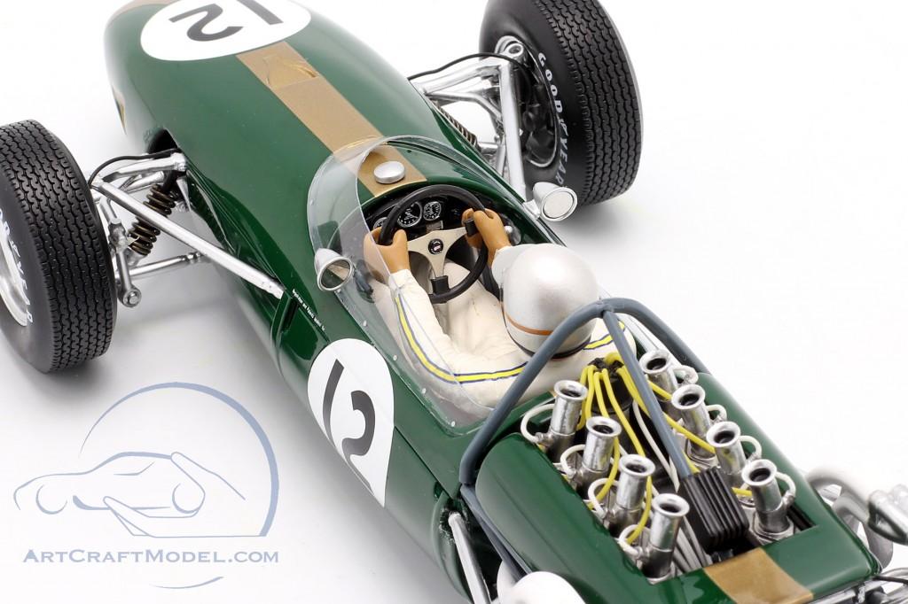 Jack Brabham Brabham BT19 #12 World Champion France GP formula 1 1966