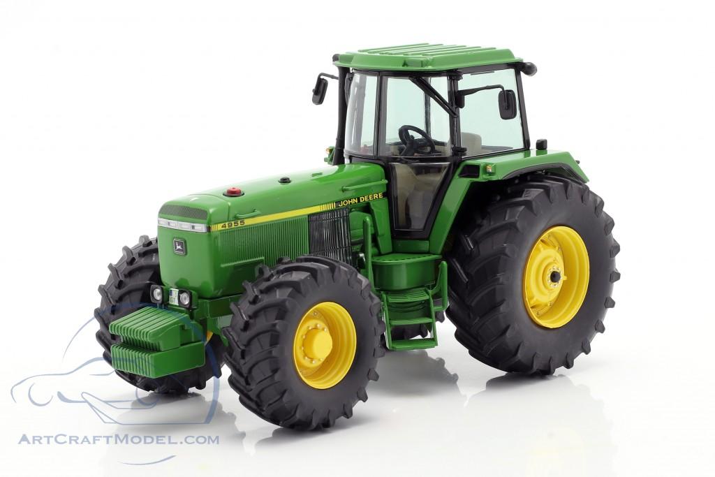 John Deere 4955 tractor year 1989-1992 green