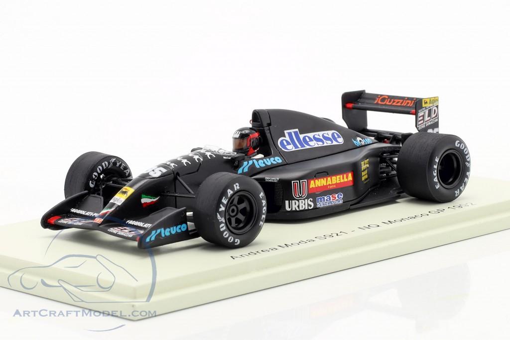 Perry McCarthy Andrea Moda S921 #35 Monaco GP formula 1 1992