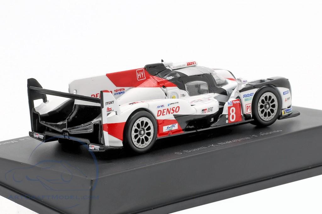 Toyota TS050 Hybrid #8 winner 24h LeMans 2019 Buemi, Nakajima, Alonso