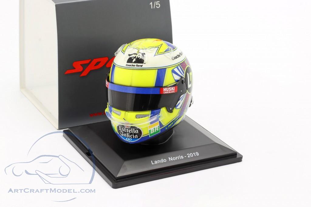 Lando Norris McLaren MCL34 #4 formula 1 2019 helmet