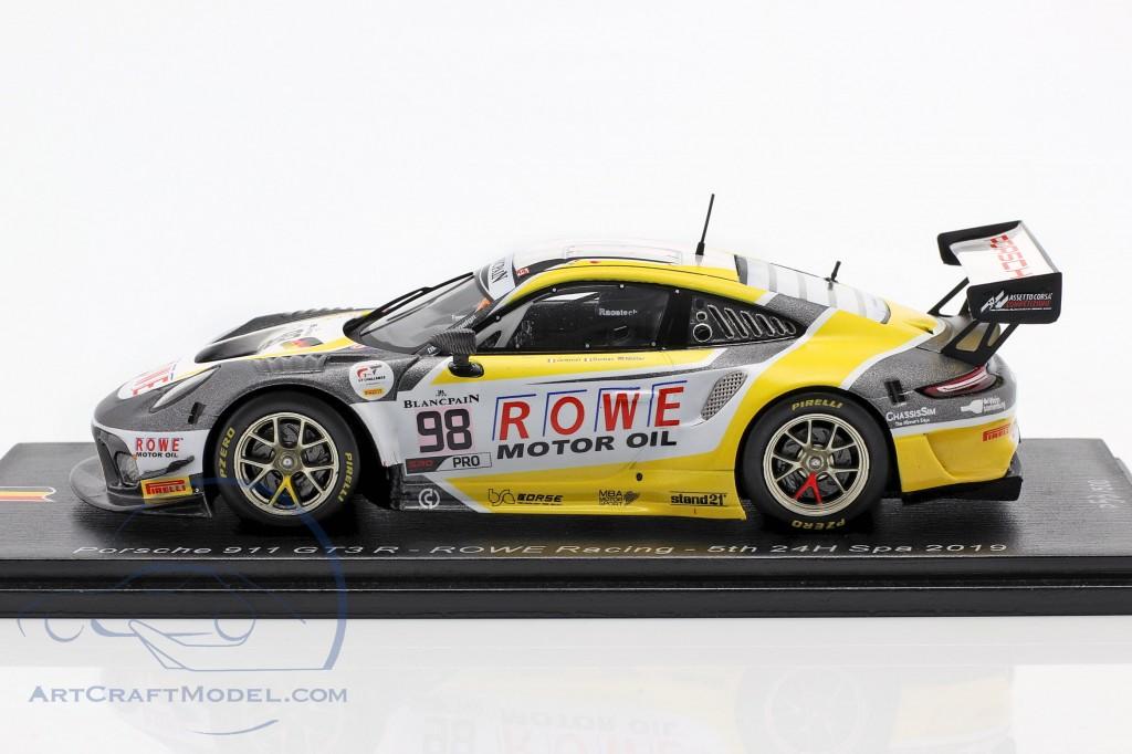 Porsche 911 GT3 R #98 5th 24h Spa 2019 Rowe Racing