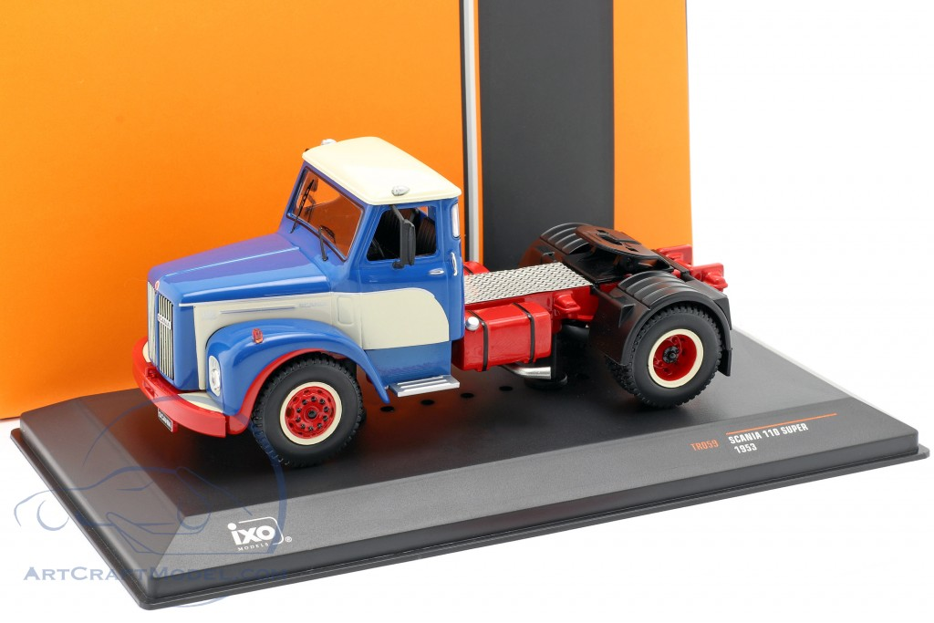 Scania 110 Super Truck year 1953 blue / white / red