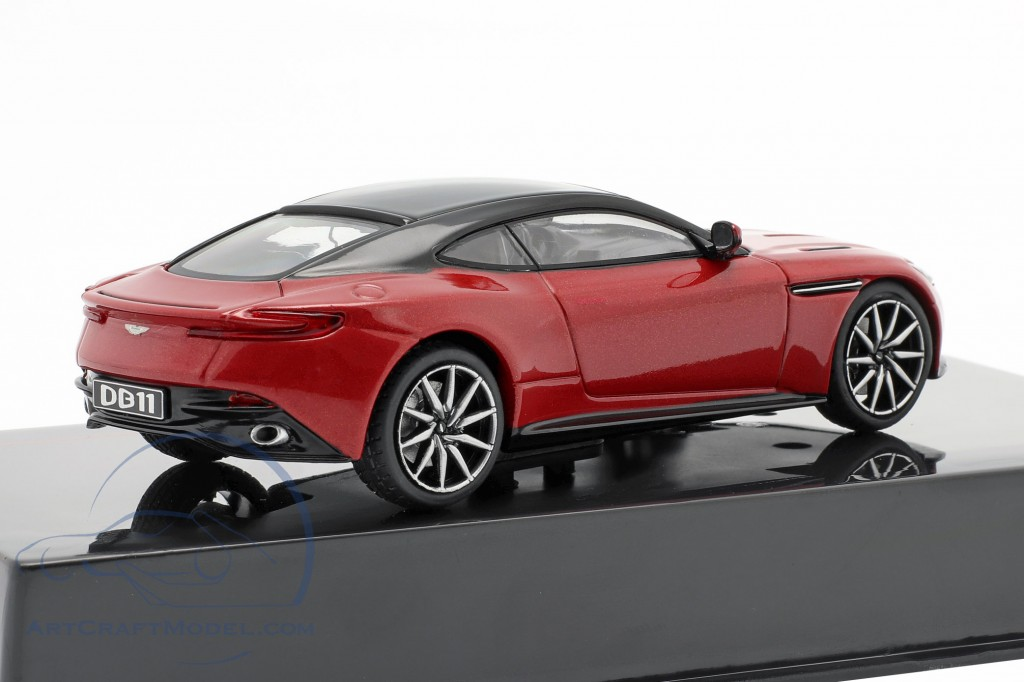 Aston Martin Db11 Coupe 2016 Red Met IXO 1:43 MOC296