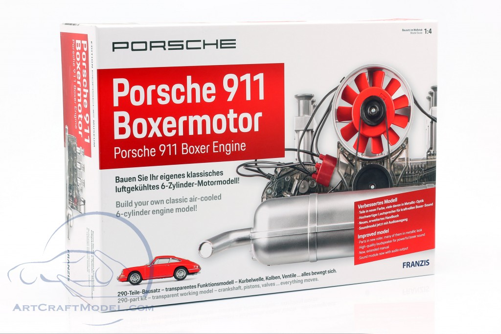 Porsche 911 6-cylinder Boxer engine year 1966 Kit