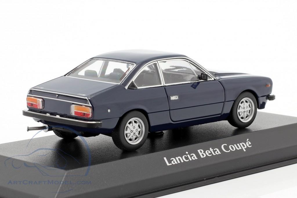 1980 DARK BLUE Minichamps 1:43 LANCIA BETA COUPE