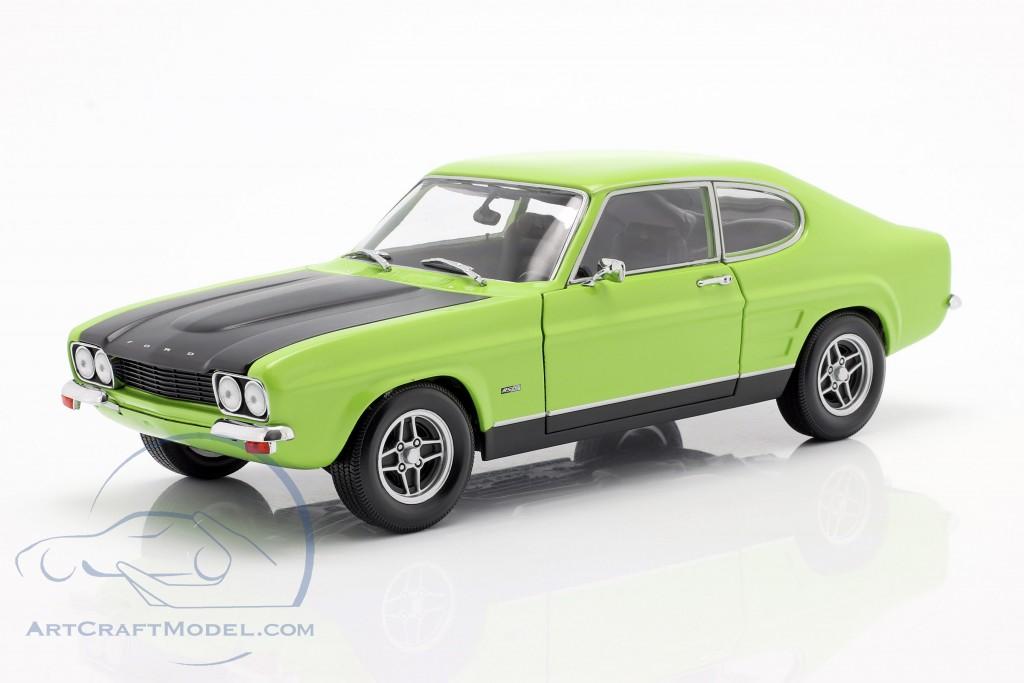 Ford Capri I Rs 2600 Year 1970 Green Black 150089075 Ean 4012138127814