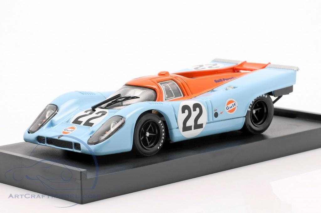 Porsche 917 K #22 Gulf Hailwood, Hobbs 24h LeMans 1970