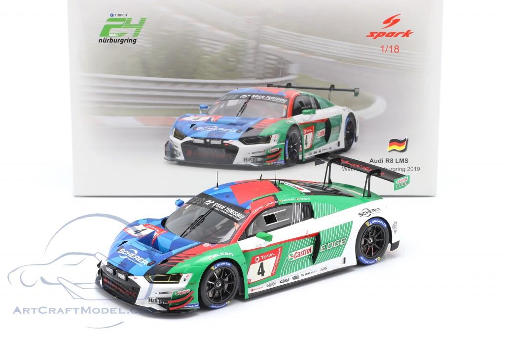 Audi R8 LMS #4 Winner 24h Nürburgring 2019 Audi Sport Team Phoenix