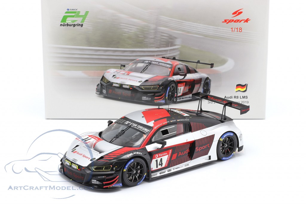 Audi R8 LMS #14 3rd 24h Nürburgring 2019 Audi Sport Team Car Collection