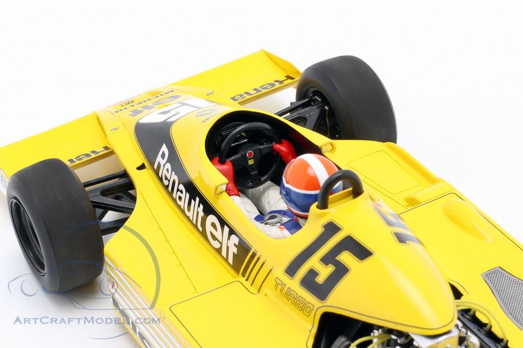 J.-P. Jabouille Renault RS01 #15 Pole Position South Africa GP F1 1979