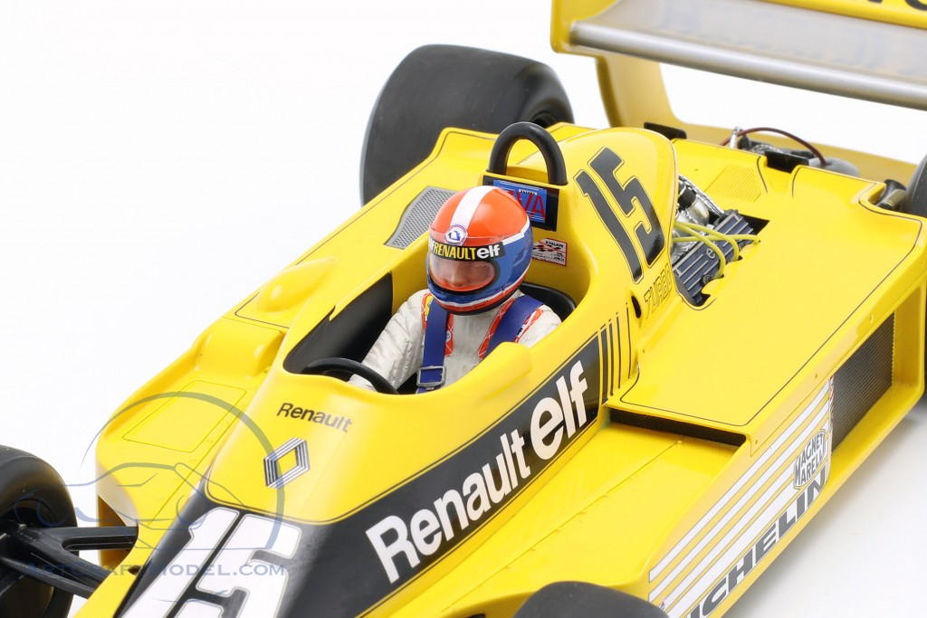 J.-P. Jabouille Renault RS01 #15 Pole Position South Africa GP F1 1979