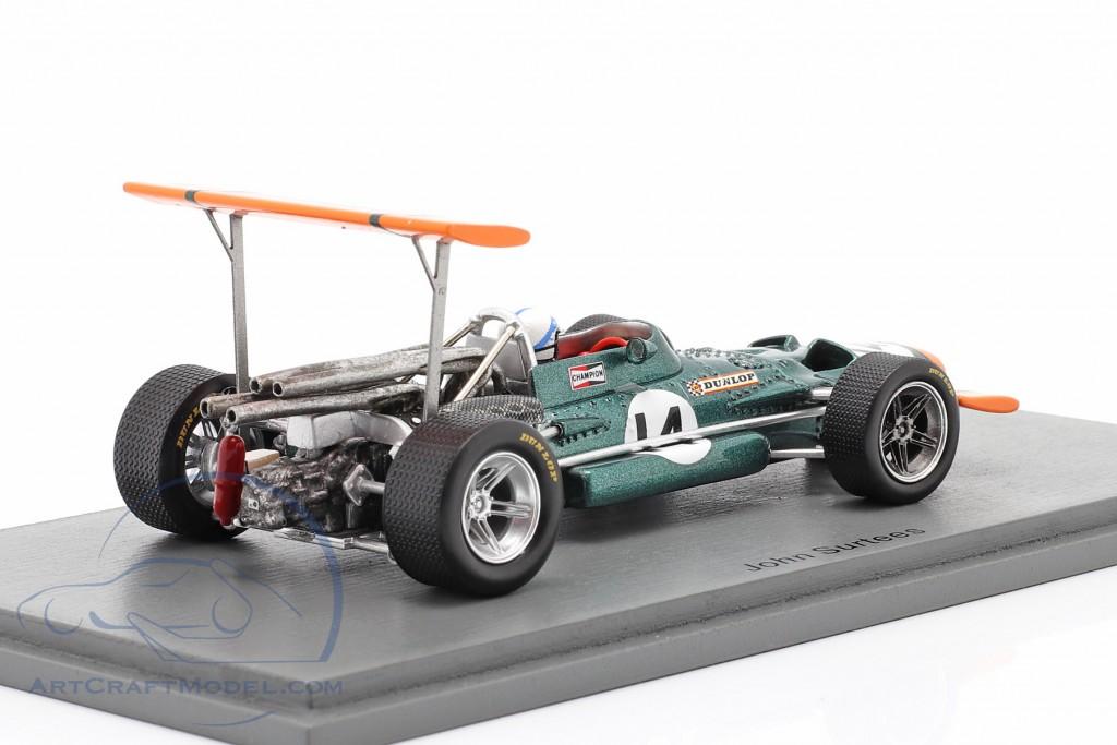 John Surtees BRM P138 #14 5th Spanish GP formula 1 1969