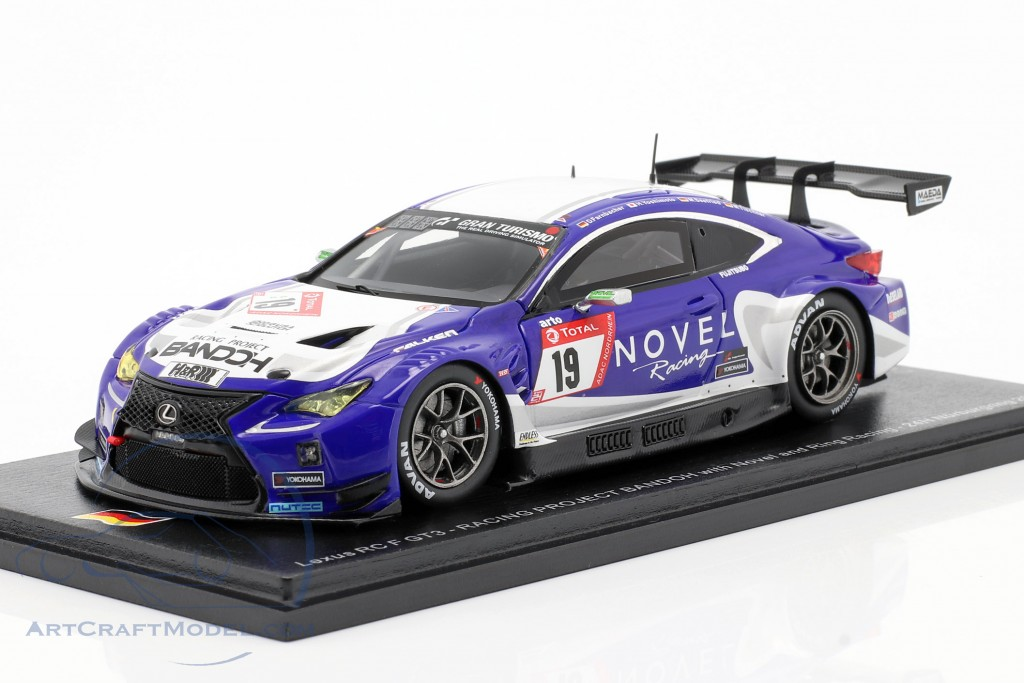 Lexus RC F GT3 #19 24h Nürburgring 2019 Racing Project Bandoh
