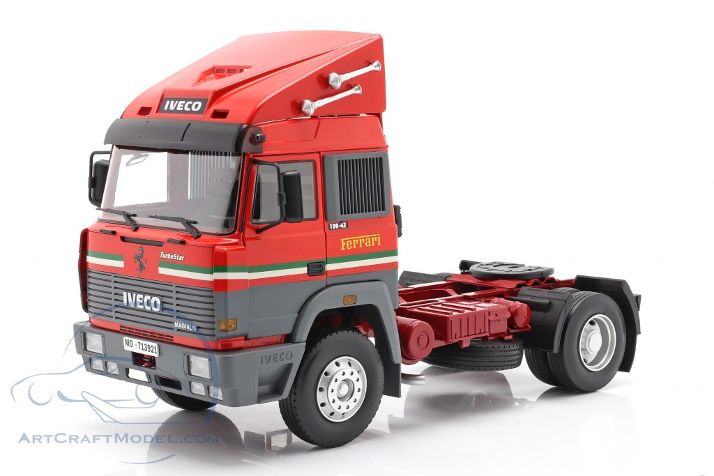 Iveco Turbo Star Scuderia Ferrari Truck year 1988 red