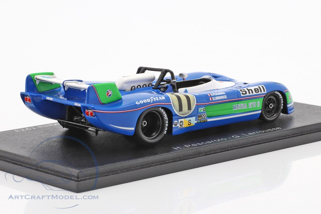 Matra MS 670B #11 winner 24h LeMans 1973 Pescarolo, Larrousse