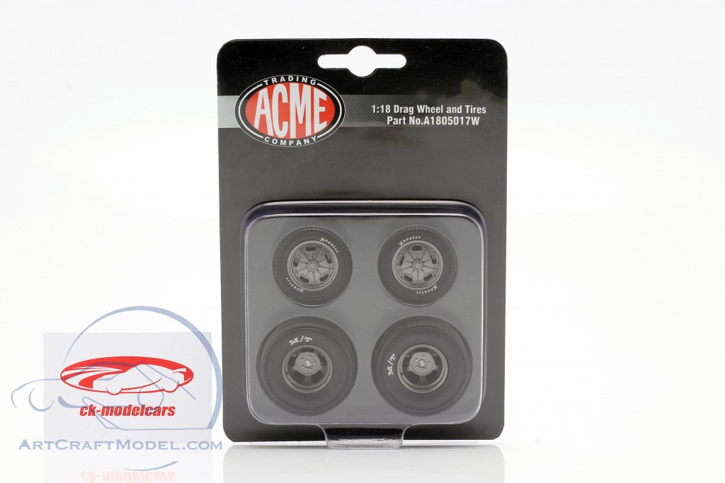 Pork Chop Drag Wheel & Tire Set